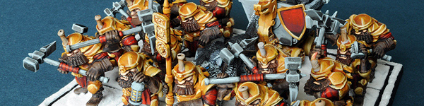 Mantic Dwarf Miners