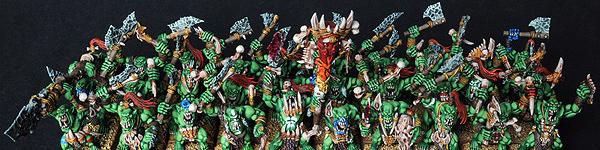 Savage Orc Boyz Horde