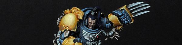 Space Wolf Guard in Terminator Armor