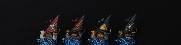 Dreadfleet Auxiliares of the Dreadfleet