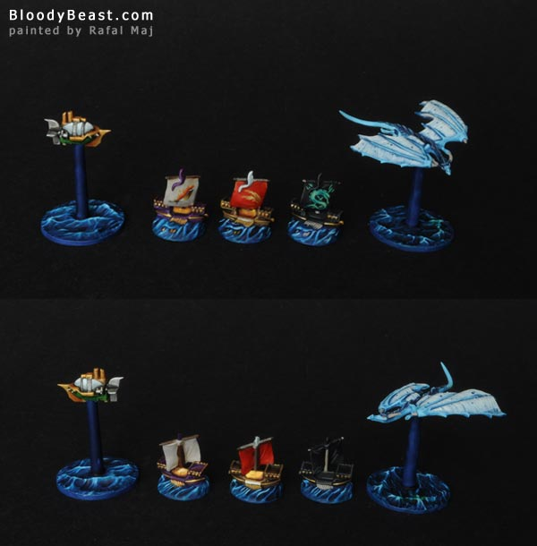 Dreadfleet Auxiliaries of The Grand Aliance painted by Rafal Maj (BloodyBeast.com)