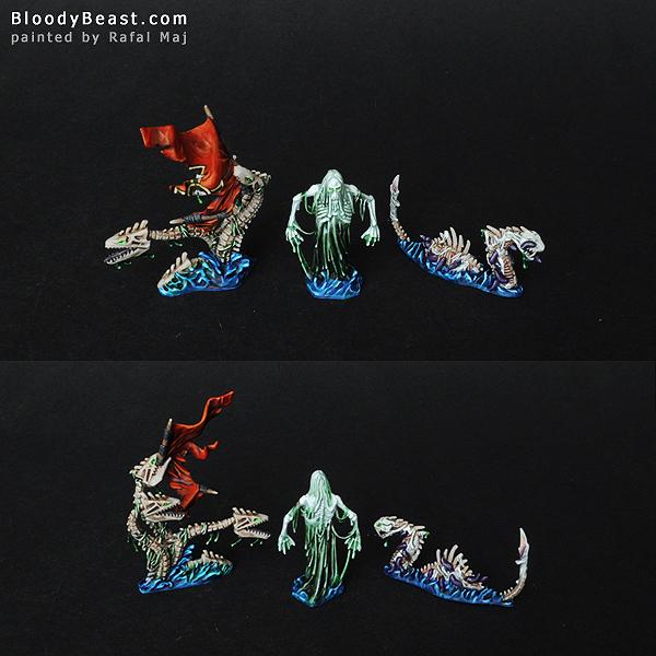 Dreadfleet Sea Monsters painted by Rafal Maj (BloodyBeast.com)