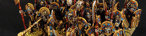 Tomb Kings Tomb Guard Regiment