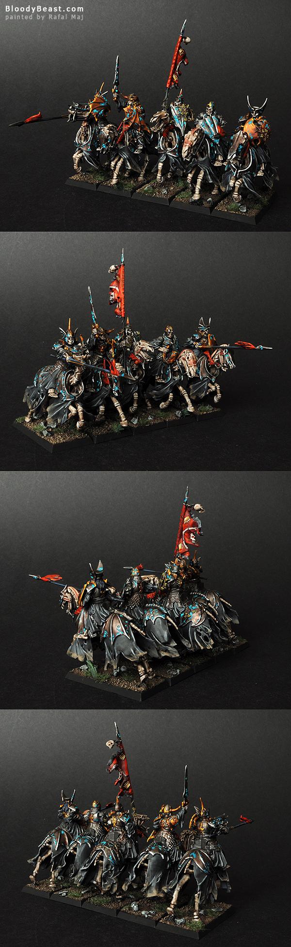 Vampire Counts Black Knights painted by Rafal Maj (BloodyBeast.com)
