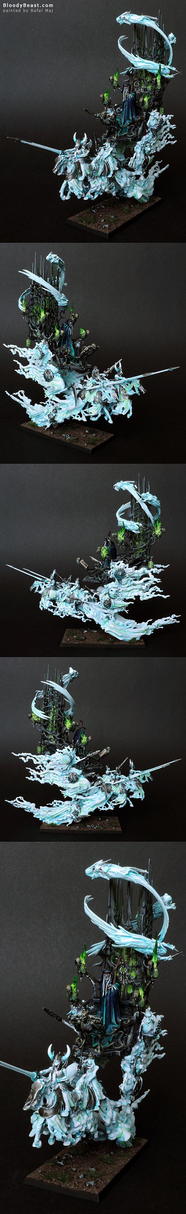 Vampire Counts Mortis Engine painted by Rafal Maj (BloodyBeast.com)