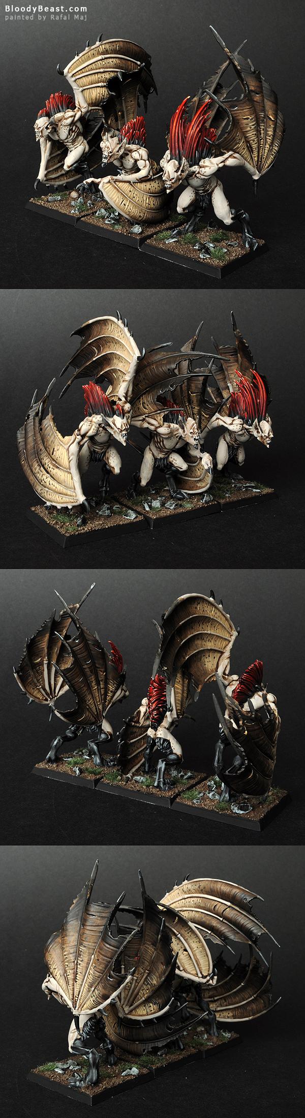 Vampire Counts Vargheists painted by Rafal Maj (BloodyBeast.com)
