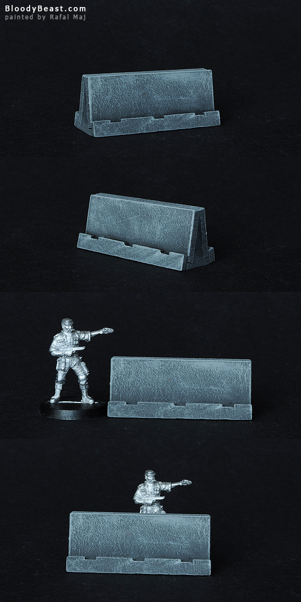 Concrete Barriers painted by Rafal Maj (BloodyBeast.com)