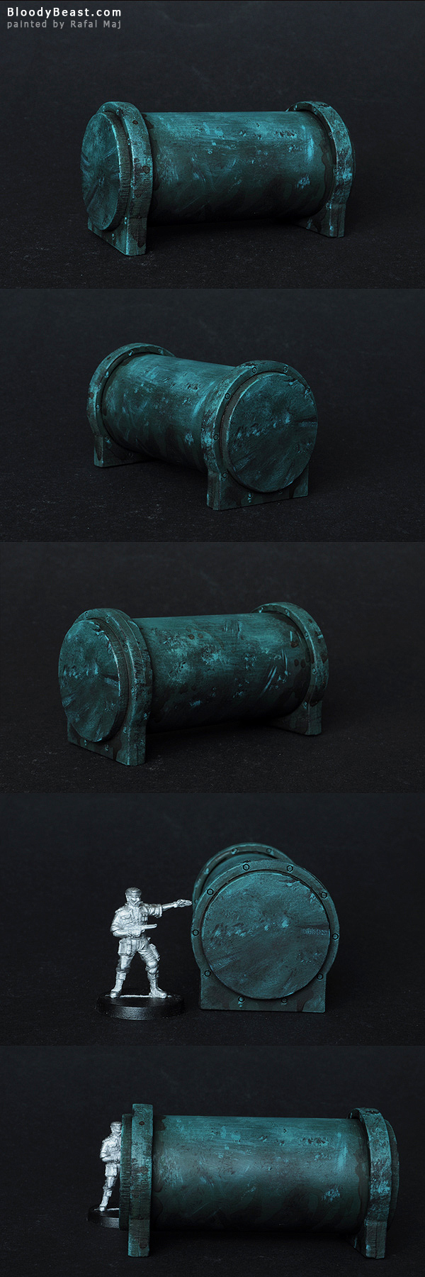 Water Tank painted by Rafal Maj (BloodyBeast.com)