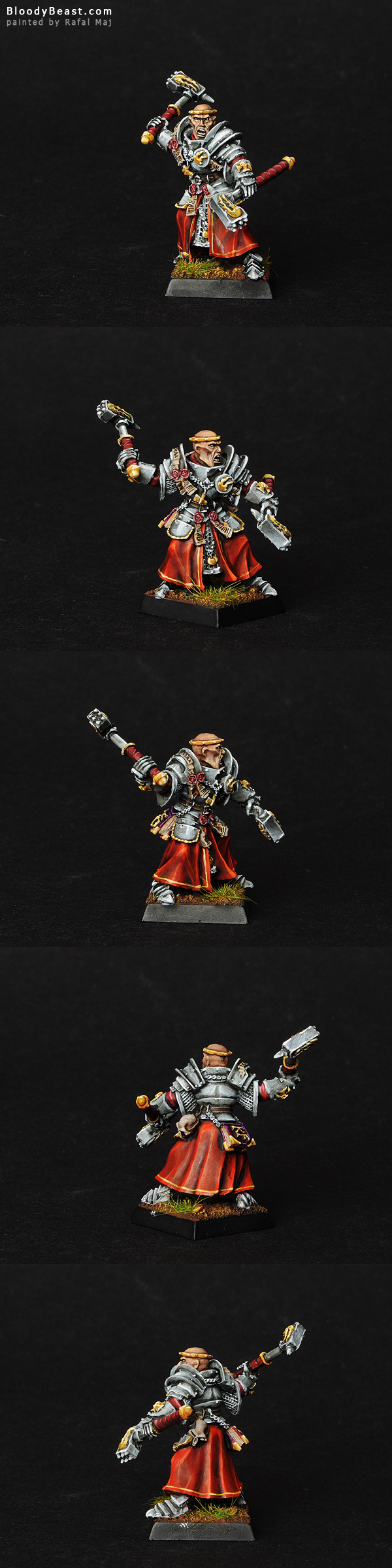 Empire Warrior Priest painted by Rafal Maj (BloodyBeast.com)