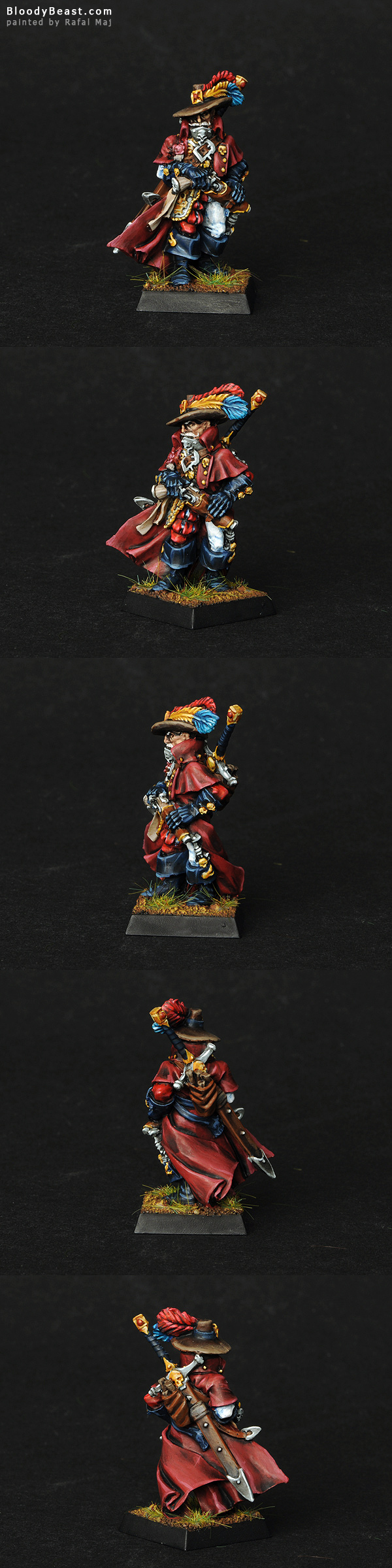 Empire Witch Hunter painted by Rafal Maj (BloodyBeast.com)
