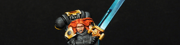 Space Wolves Female Lone Wolf