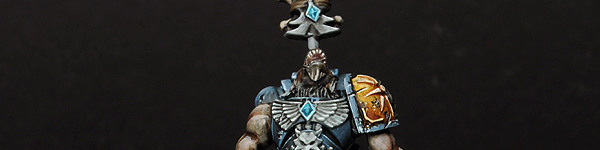 Space Wolves Lone Wolf with Mark of Wolfen