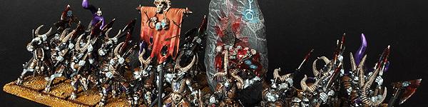 Beastmen Bestigors of Slaanesh Horde