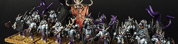 Beastmen Gors Herd of Slaanesh Horde