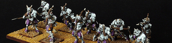 Beastmen Ungor Raiders of Slaanesh