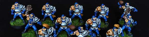Blood Bowl Human Team