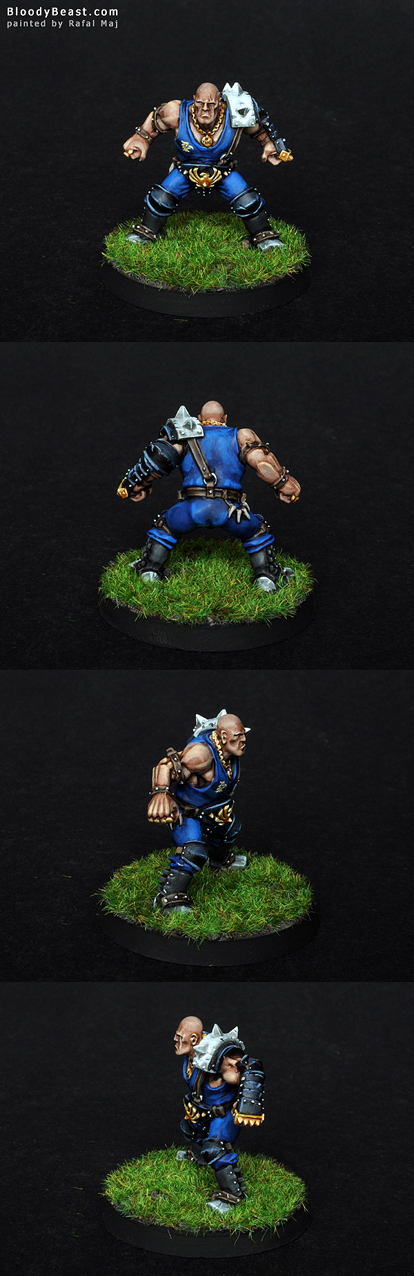 Blood Bowl Mighty Zug painted by Rafal Maj (BloodyBeast.com)