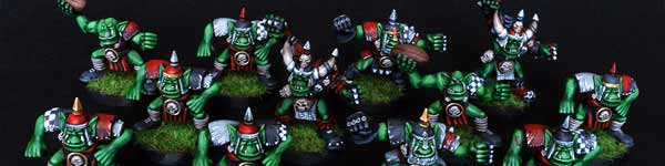 Blood Bowl Orc Team