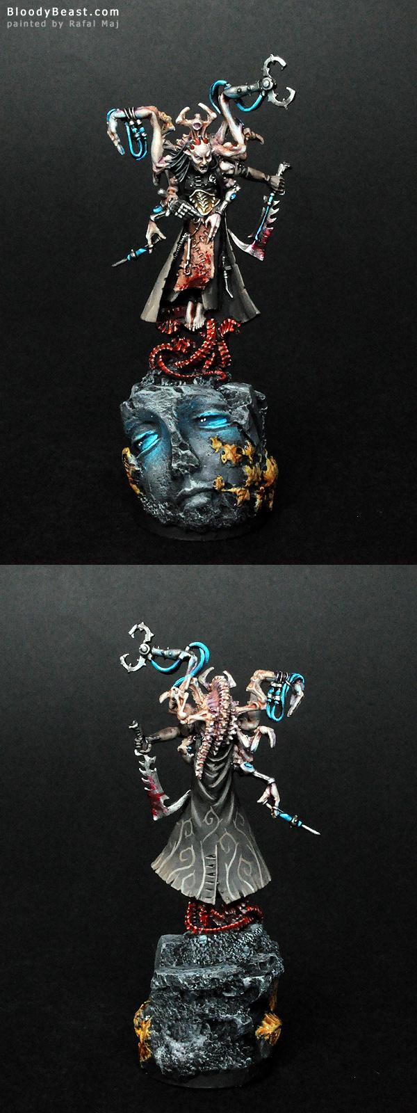 Dark Eldar Urien Rakarth painted by Rafal Maj (BloodyBeast.com)