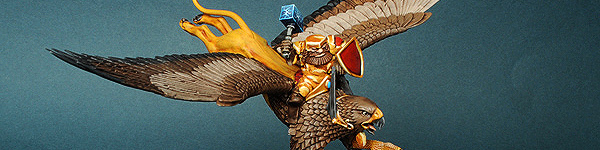 Mantic Dwarf Griffon Rider