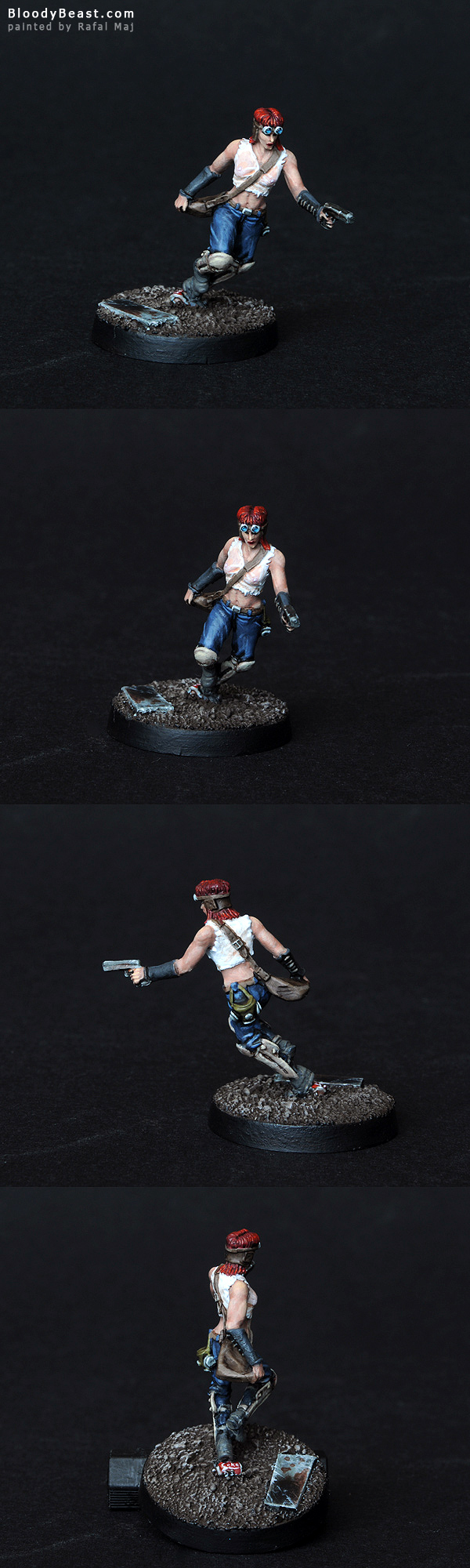 Courier painted by Rafal Maj (BloodyBeast.com)