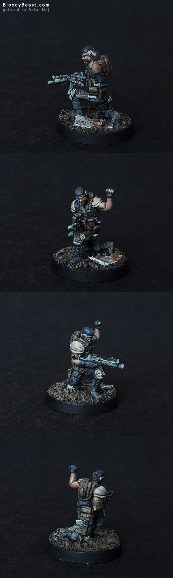 Scout painted by Rafal Maj (BloodyBeast.com)