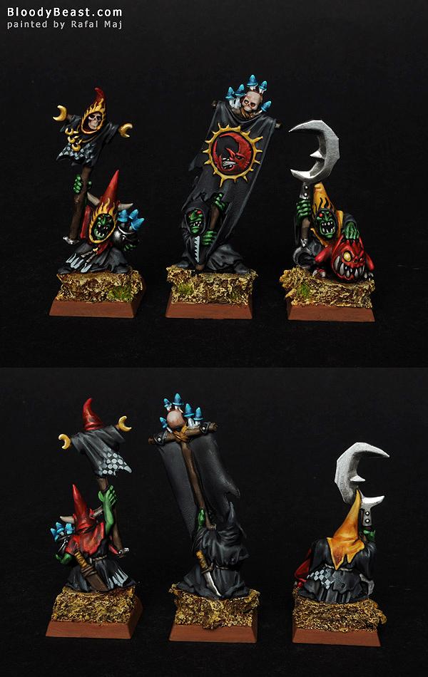 Night Goblin Heroes painted by Rafal Maj (BloodyBeast.com)