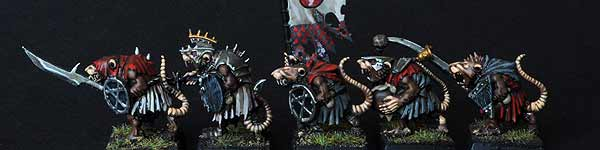 Skaven Clanrats with Spears