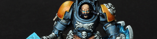 Space Wolves Arjac Rockfist