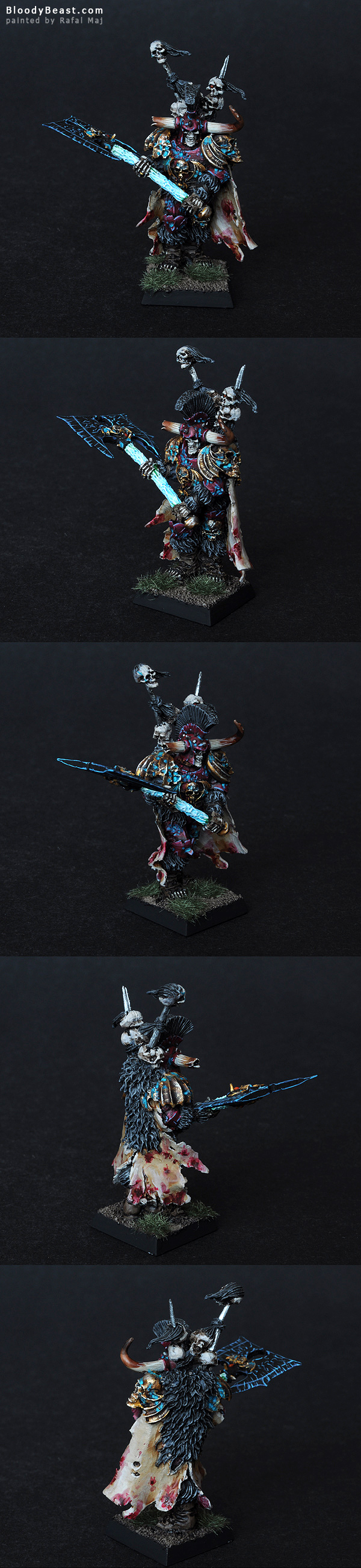 Vampire Counts Krell, Lord of Undeath painted by Rafal Maj (BloodyBeast.com)