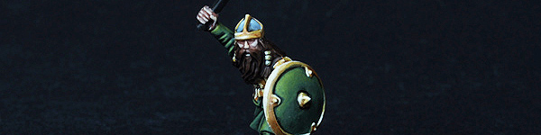 LotR Dwarf Army Color Tests