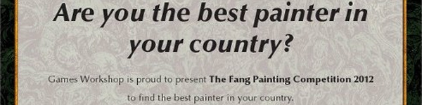 The Fang Painting Competition Poland 2012