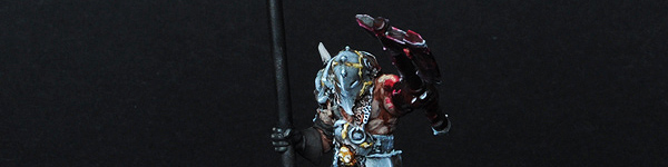 Chaos Battle Standard Bearer