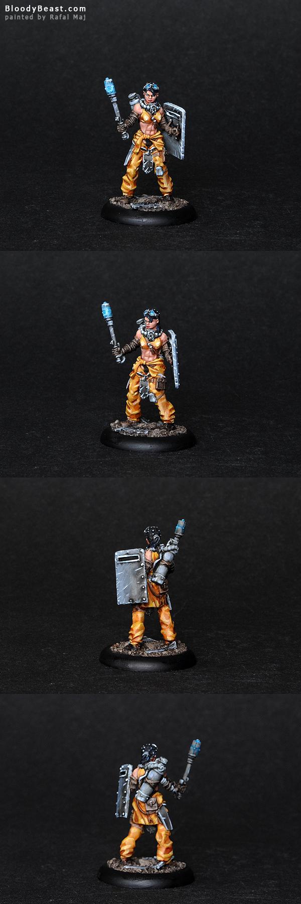 Eden Resistance Chelsea painted by Rafal Maj (BloodyBeast.com)