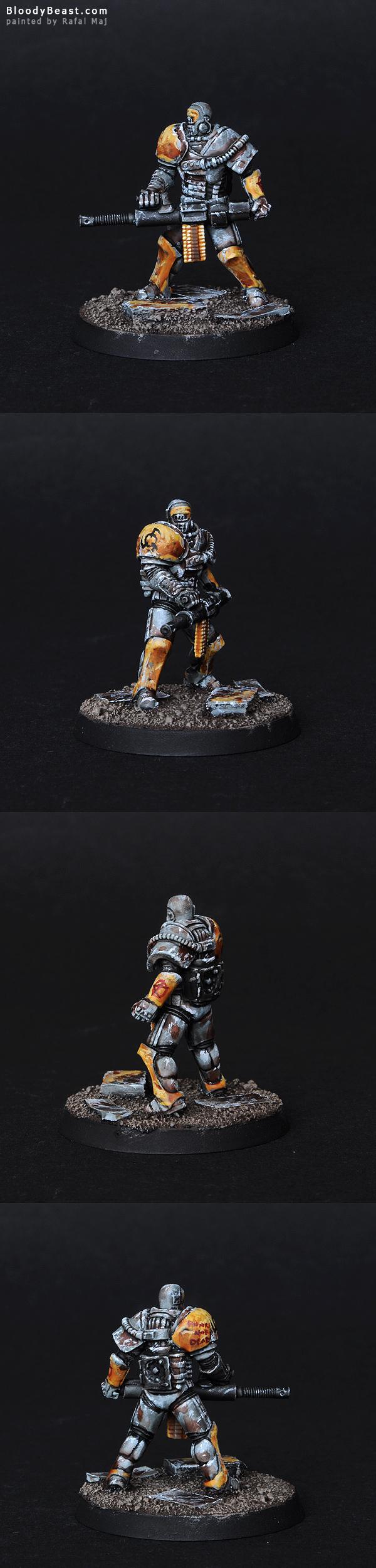 Hegemony Steel Police painted by Rafal Maj (BloodyBeast.com)