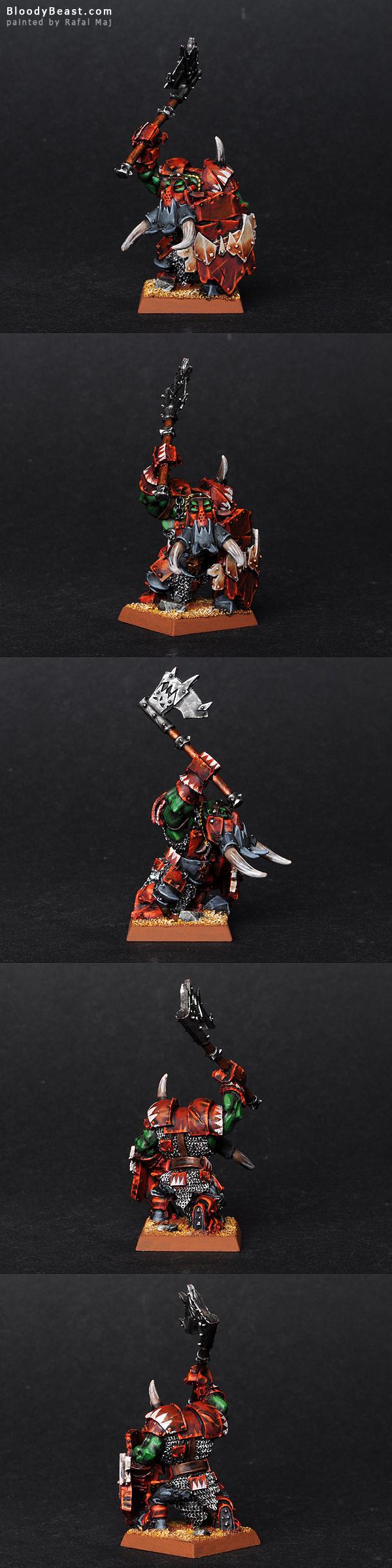 Black Orc Krimson Killer Big Boss painted by Rafal Maj (BloodyBeast.com)