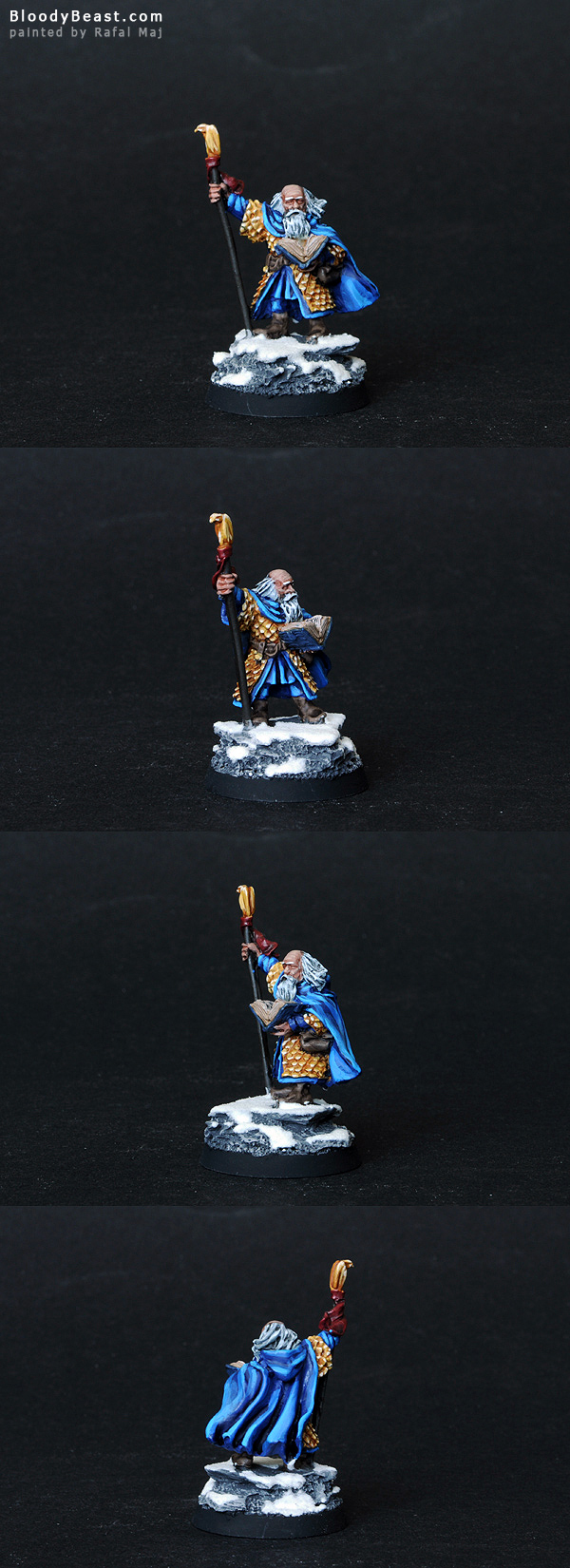 Floi Stonehand, Loremaster of Moria painted by Rafal Maj (BloodyBeast.com)