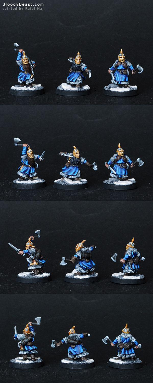 Dwarf Iron Guard painted by Rafal Maj (BloodyBeast.com)