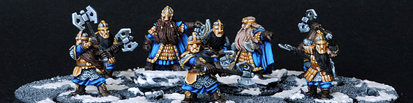 Khazad Guard Unit with Dain and Balin