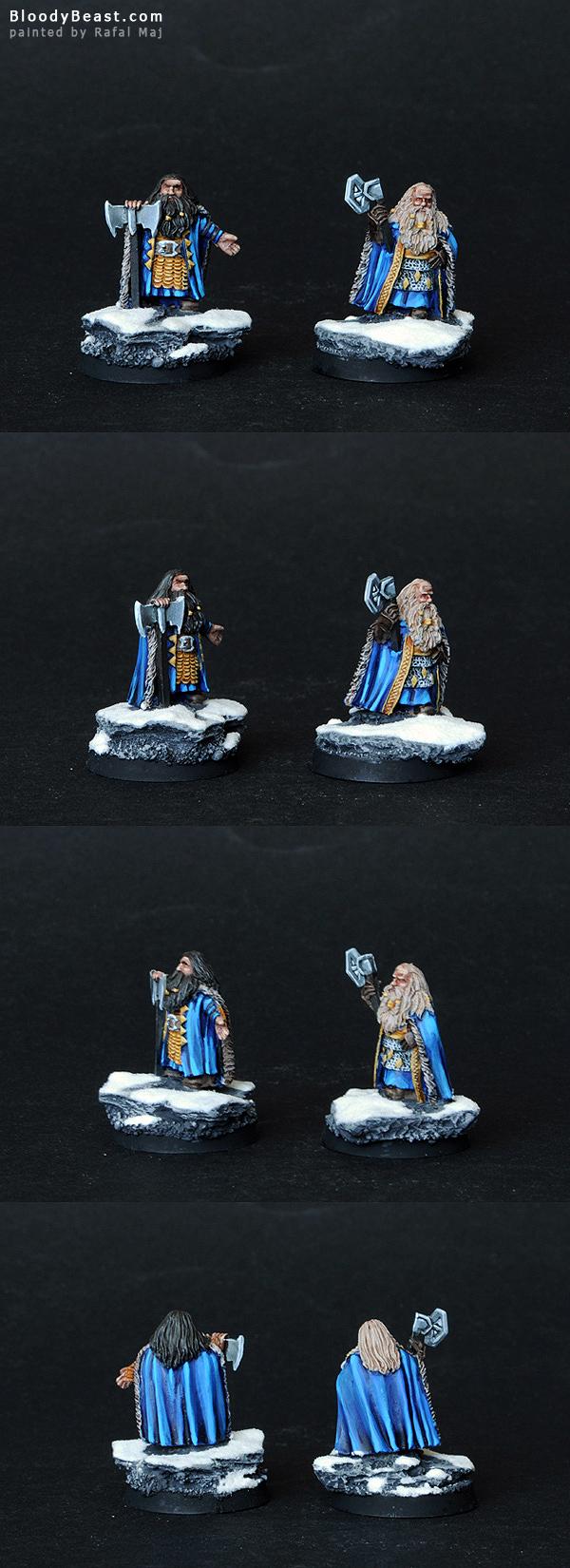 Dwarf Kings painted by Rafal Maj (BloodyBeast.com)