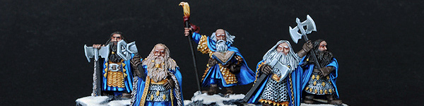 Dwarf Kings with Loremaster