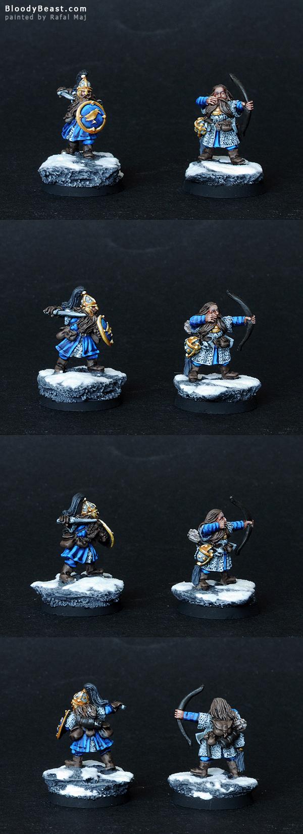 Dwarf Murin and Drar painted by Rafal Maj (BloodyBeast.com)