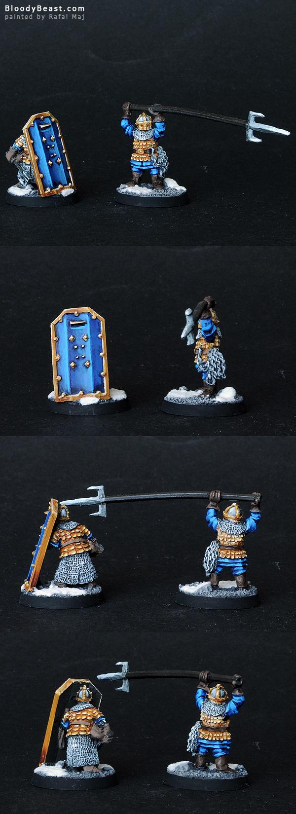 Dwarf Vault Warden Team painted by Rafal Maj (BloodyBeast.com)