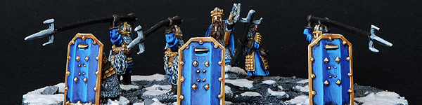 Dwarf Vault Warden Team Unit with Durin and Mardin