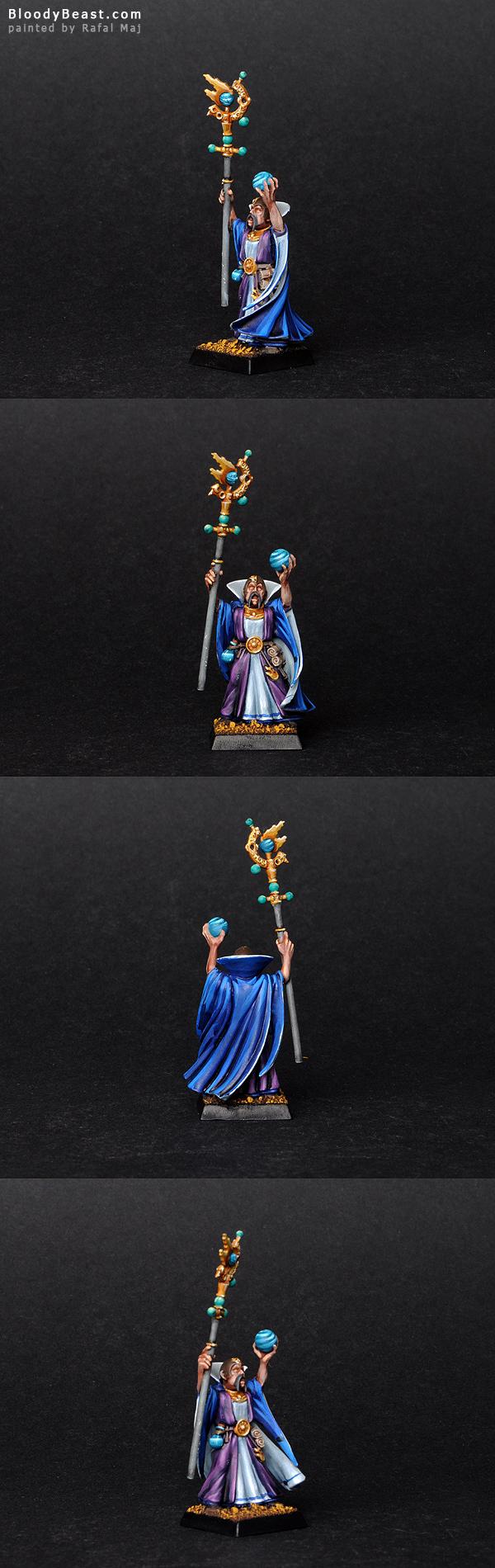 Empire Celestial Wizard painted by Rafal Maj (BloodyBeast.com)