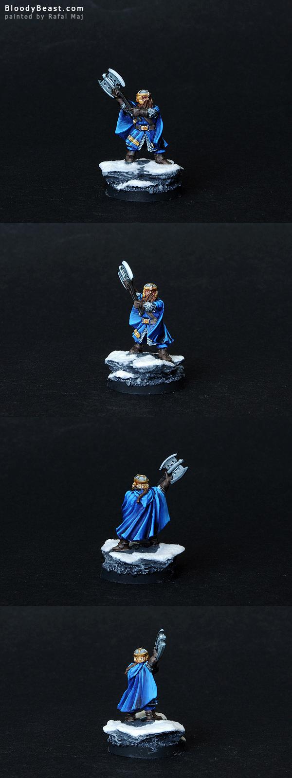 Gimli painted by Rafal Maj (BloodyBeast.com)