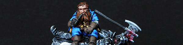 Gimli on Dead Uruk-hai