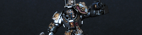 Grey Knight Terminator with Nemesis Force Halberd