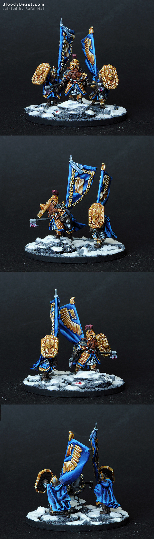 King's Champion painted by Rafal Maj (BloodyBeast.com)