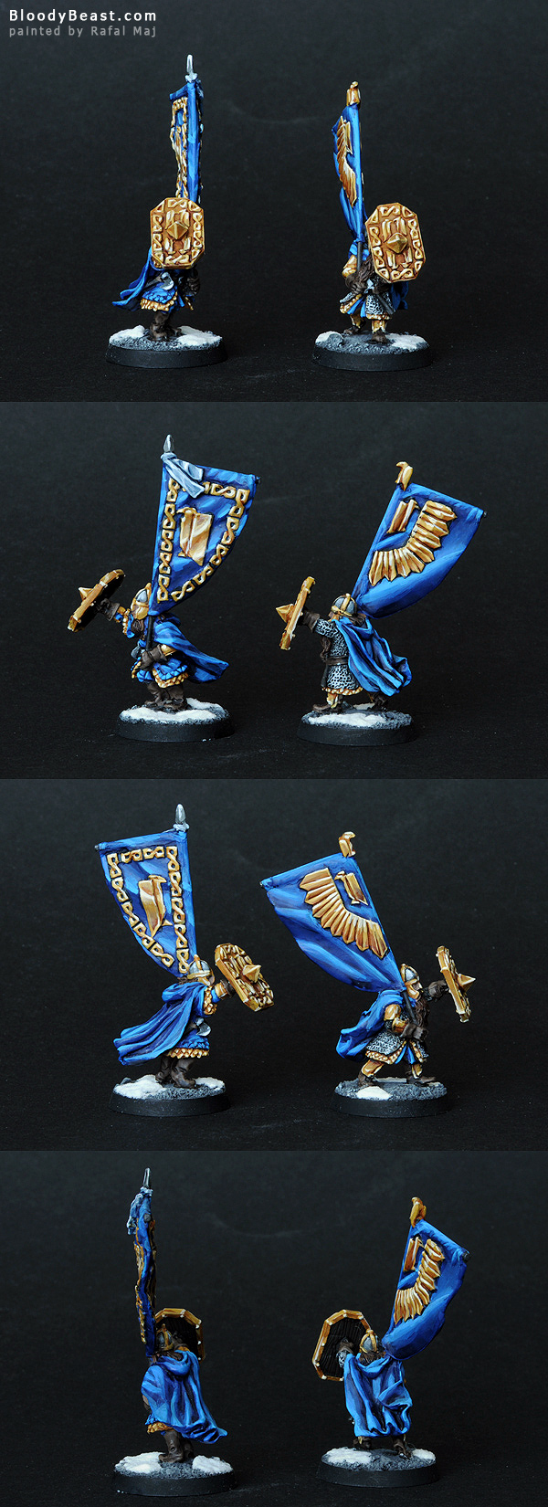 King's Champion Heralds painted by Rafal Maj (BloodyBeast.com)